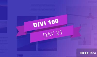 Divi 100 Giorno 21 – Nuovo Pacchetto Gratuito Divi Blog Post Layouts: Porterà Gli Articoli Del Builder A Tutto Un Altro Livello!