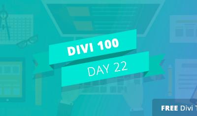 Divi 100 – Giorno 22: 5 modi creativi per utilizzare Margine Built-In di Divi e controlli Gutter