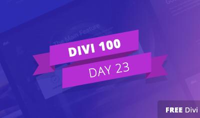 Divi 100 – Giorno 23: Features List Layout Pack, ovvero come mostrare in grande stile cosa puoi offrire ai tuoi clienti!