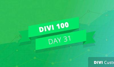 Divi 100 Giorno 31 –  Finalmente ecco i risultati del sondaggio!