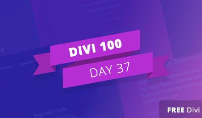 Divi 100 Giorno 37 – Pacchetto Gratuito Divi di Layout per Split Screen