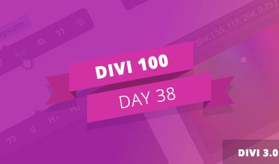 Divi 100 Giorno 38 – Divi 3.0 Sneak Peek: uno Sguardo alle Prossime funzionalità Inline Editing di Divi